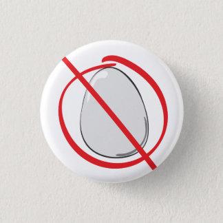 Egg Free - Allergy 3 Cm Round Badge