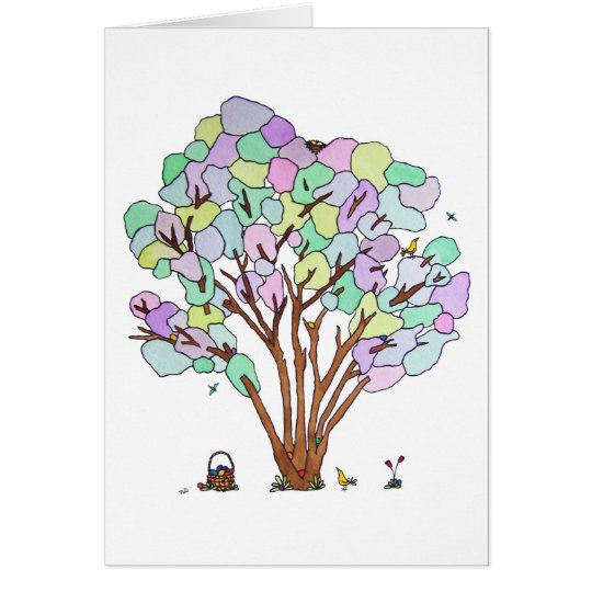 Egg Hunt, Blank Card