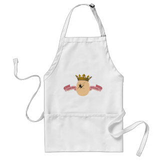 Egg King apron