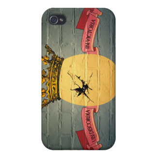 Egg King Graffiti iPhone 4 case