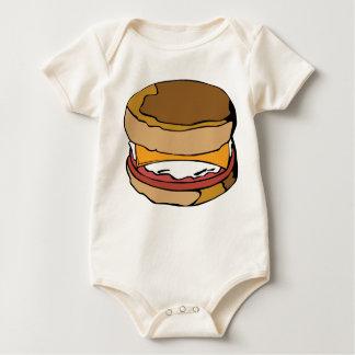 Egg muffin baby bodysuit