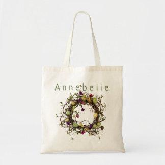 Egg Wreath Tote Bag