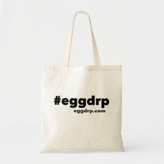#eggdrp reusable tote bag