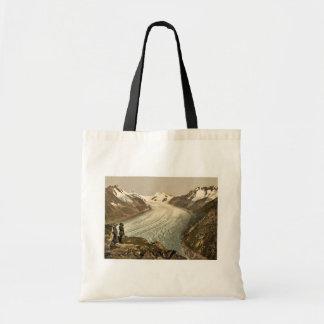 Eggishorn, Grand Aletsch Glacier, with Jungfrau, M Canvas Bag