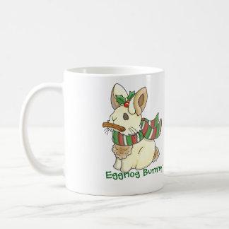 Eggnog Bunny Basic White Mug