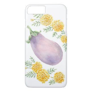 Eggplant and Marigold Phone Case