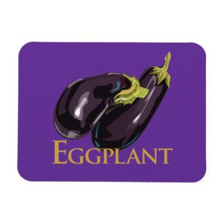 Eggplant Aubgergine Magnet