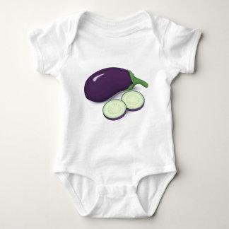 Eggplant Baby Bodysuit