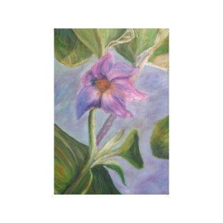EGGPLANT BLOSSOM Canvas  Print Canvas Prints