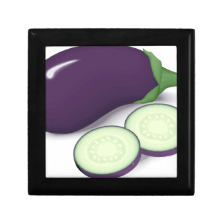 Eggplant Gift Box