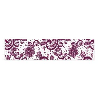 Eggplant Lace Napkin Bands Pack