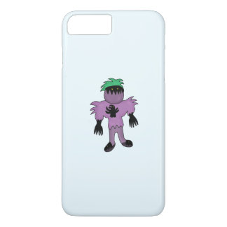 Eggplant monster iPhone 7 plus case