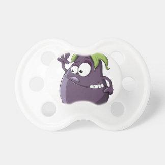 Eggplant Purple Vegetable Eyed Toothy Cartoon Dummy