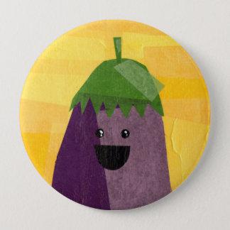 Eggplant! Vegeta-Button 10 Cm Round Badge