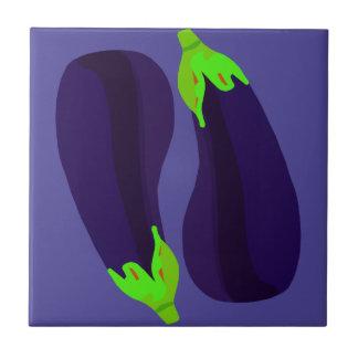 Eggplants Tile