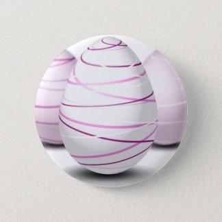 Eggs 6 Cm Round Badge