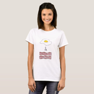 Eggs and Bacon Funny Women's T-Shirt