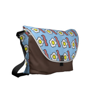Eggs and Bacon Courier Bag