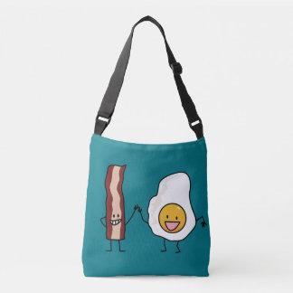 Eggs and Bacon Strips Combo Egg Breakfast Crossbody Bag