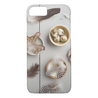 Eggs and feathers iPhone 7 case