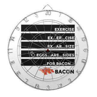 Eggs Are Sides For Bacon Dartboard
