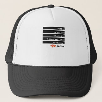 Eggs Are Sides For Bacon Trucker Hat