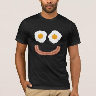 eggs bacon smiley T-Shirt