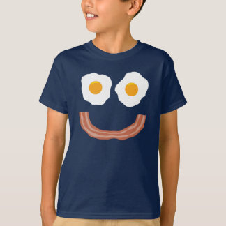 Eggs Bacon Smiley Tshirt