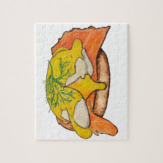 Eggs Benny Jigsaw Puzzle