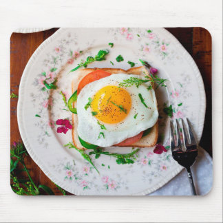 Eggs for Breakfast Funny Mouse pad