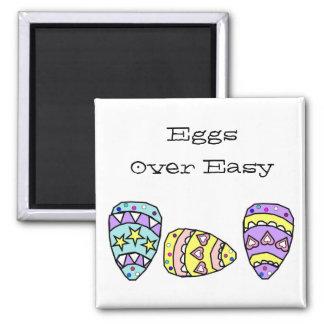 Eggs Over Easy Easter Magnet