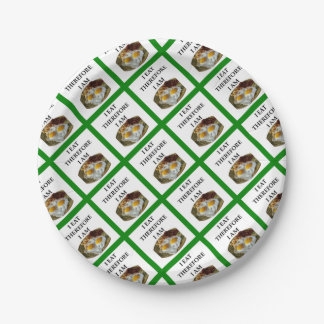 eggs paper plate