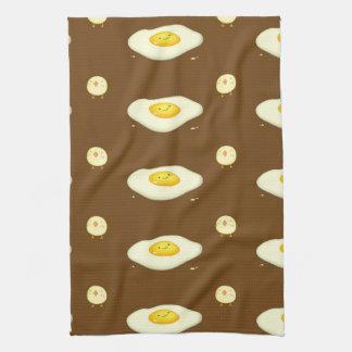 Eggsellent Tea Towel
