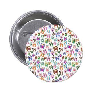 Eggy Owls - scramble ver - Button