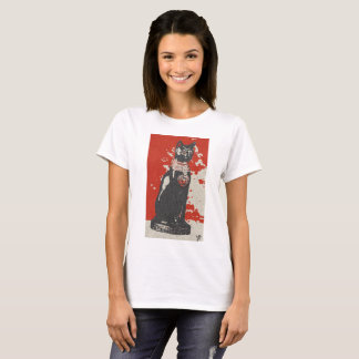 Egipt bastet cat female design art colour history T-Shirt