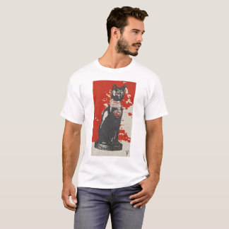 Egipt bastet cat male design art colour history T-Shirt