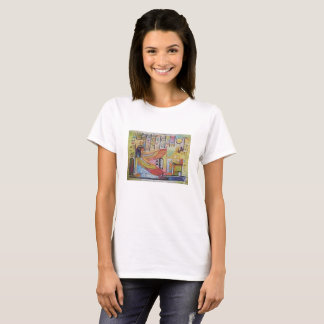 Egipt female design art colour history T-Shirt