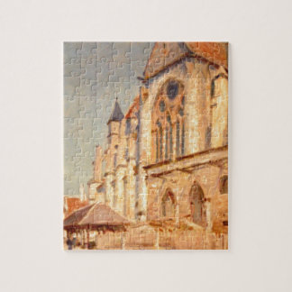 Eglise de Moret by Alfred Sisley Jigsaw Puzzles
