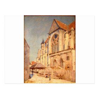 Eglise de Moret by Alfred Sisley Postcard