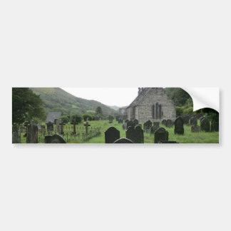 Eglwys Tydecho Sant (Llanmawddwy Parish Church) Bumper Stickers