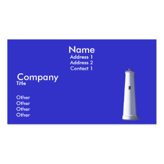 Egmont Key Business Cards