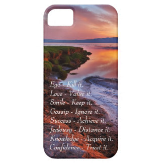 Ego Kill it Love value it Smile Keep it quote Case For The iPhone 5