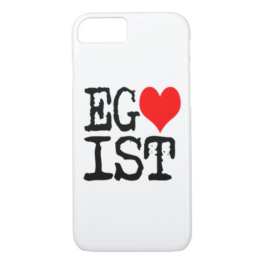 Egoist Red Heart iPhone 7 Case