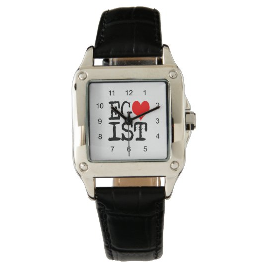Egoist Red Heart Wrist Watches