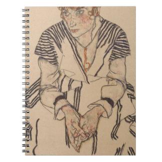 Egon Schiele- Artist's Sister in Law Notebook
