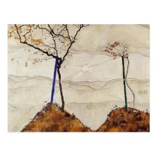 Egon Schiele- Autumn Sun Postcard