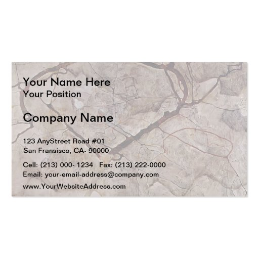 Egon Schiele- Autumn Tree in Movement Business Card