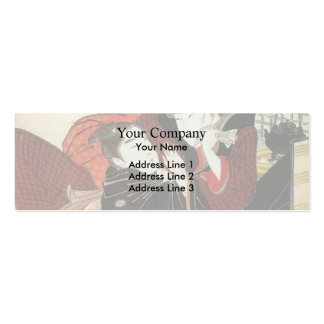 Egon Schiele- Autumn Tree in Movement Business Cards