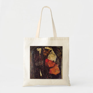 Egon Schiele- Pregnant woman and Death Canvas Bags