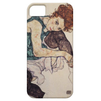 Egon Schiele Seated Woman iPhone case